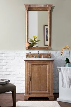 "26"" Providence Driftwood Single Bathroom Vanity – VANITIES EXPO"