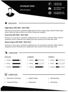 Resume Templates Microsoft Word 2013 Creative Resume Template For Word  Microsoft Word Creative Resume .