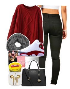 """Untitled #149"" by bettyboop-lovin-mb ❤ liked on Polyvore featuring Sperry Top-Sider, Retrò, Neutrogena, MICHAEL Michael Kors and Carmex"