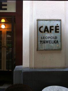 Café Hawelka in Wien
