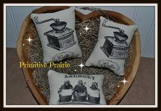 Primitive pillows bowl filler talks kitchen by PrimitivePrairie, $4.99
