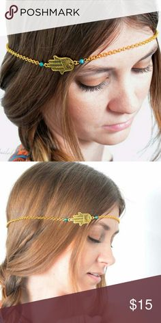 All Seeing Eye Hair Chain New Gold plated all seeing eye hair chain. See boutique for more fashions! Follow us to see New items posted daily!  #love #beauty #makeup #fashion #swimsuit #streetwear #style #trend #boho #matte #201 #designer #crop #mid #wedding #marriage #women #plussize #plus #petite #small #medium #large #unicorn #brush #gold #silver #human #hair #dress #shirt #short #top #sunglasses #watches #jewelry #choker #multilayer #bohemian #rings #leggings #necklace #bracelet #crop…