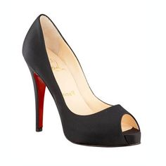 Classic Louboutin's- wish I could wear these! Just too high!