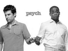 Shawn Spencer and Burton Guster? Zak Youmans and Jason Peterson? I've heard it both ways... Best Tv Shows, Best Shows Ever, Movies And Tv Shows, Favorite Tv Shows, Favorite Things, Favorite Quotes, Shawn And Gus, Shawn Spencer, Shawn And Juliet