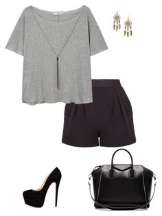"""""""#Unnamed"""" by aninha-418 ❤ liked on Polyvore featuring MANGO, Givenchy and Boohoo"""