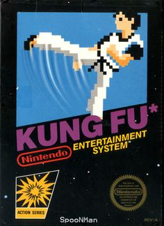 Play Kung Fu game on Nintendo NES online in your browser. ➤ Enter and start playing now! Video Vintage, Vintage Video Games, Classic Video Games, Retro Video Games, Vintage Games, Video Game Art, Retro Games, Vintage Toys, Nes Games