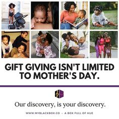 Mother's Day is officially this weekend! Have you made plans? What about a gift? Who doesn't like getting a gift that comes from the heart? You know you can always gift someone one of our boxes? If you want to purchase a one-time box for someone special you should probably do so now to ensure they get our June blackbox. With graduation birthdays summers family reunions and more coming up this summer don't be caught out there empty handed!  #blackbox #blackowned #blackmade #subscriptionbox…