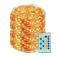 Led String Lights 99ft 300led with Remote Control Flexible Dimmable Decorative Lights Ucharge Led Starry String Fairy Copper Wire Light for Garden Tree Flowers Wedding Christmas Warm White * To view further for this item, visit the image link. (This is an affiliate link) Copper Wire Lights, Indoor String Lights, Christmas Lights, Christmas Trees, Garden Trees, Christmas Wedding, Light Decorations, White Light, Wedding Flowers