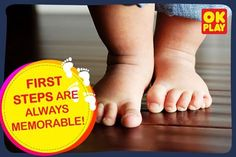 Click a #picture of your #toddler taking their first steps and share them with us in the comments below: