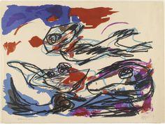 Compositie, Karel Appel, 1957