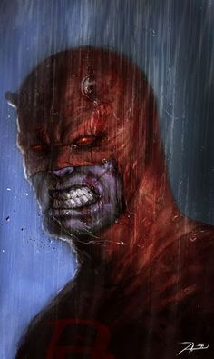 """Daredevil by Adnan Ali #SUPERHEROS, ✮✮Feel free to share on Pinterest"""" ♥ღ www.UNOCOLLECTIBLES.COM"""