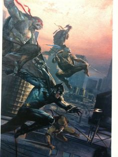 c9cf84baa70 20 Retailer Exclusive Covers For Batman Teenage Mutant Ninja Turtles - It  Begins With Neal Adams (UPDATE)