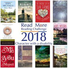 #readmore2018 #readingchallenge #books #characterwithadisability #seymourlibrary