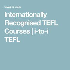 Internationally Recognised TEFL Courses | i-to-i TEFL