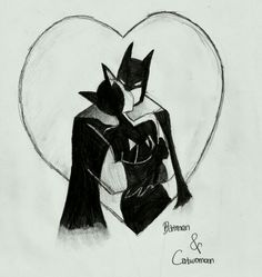 Batman and catwoman love