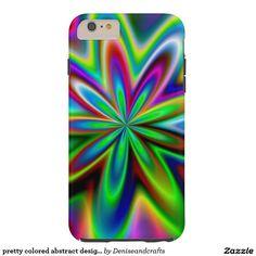 pretty colored abstract design case
