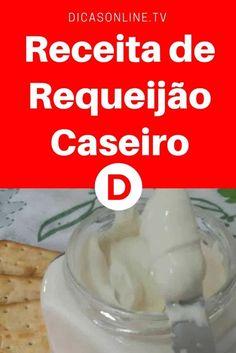 Requeijão cremoso caseiro   Requeijão Caseiro
