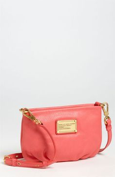 coral Marc Jacobs crossbody bag