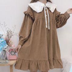 Japan Fashion, Kawaii Fashion, Lolita Fashion, Cute Fashion, Mori Girl Fashion, Pretty Outfits, Pretty Dresses, Cool Outfits, Kawaii Dress