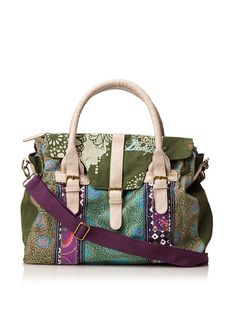 Desigual Women's Bols_Zamba Convertible Satchel at MYHABIT