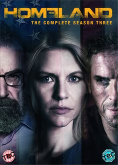"""Homeland: Season 3 (2013) starring Damian Lewis, Claire Danes, Morena Baccarin, Rupert Friend and Mandy Patinkin. """"Carrie and Saul begin to pick up the pieces of their shattered professional lives, they are swept up in the political and media firestorm surrounding the terror attack and the subsequent search for Brody's whereabouts."""""""