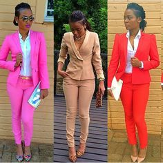 10 Elegant work outfits every woman should wear, here explained for just graduated who is preparing for an interview, and also for the officials and business. Casual Outfits, Cute Outfits, Fashion Outfits, Womens Fashion, Work Outfits, Outfit Work, Casual Attire, Church Outfits, Moda Afro