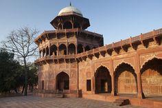 The Taj Mahal Mosque in Uttar Pradesh, India