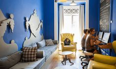 The 10 Best Hostels in Lisbon: A Mecca for Luxury Hostel Worshippers Portugal Travel Guide, Belem, The Good Place, Luxury, World, Places, Room, Design, Italia