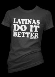 shirt says it all, haha love it!   Now all they need is a Spanish and German girls do it better since I'm mixed ;-)