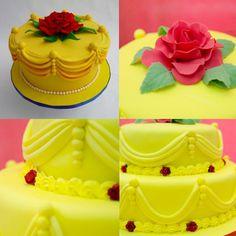 festa bela e a fera bolo - Pesquisa Google