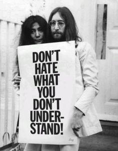 John Lennon and Yoko Ono by Maiden11976
