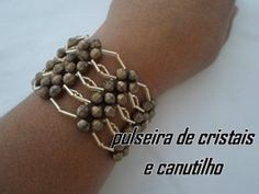 NM Bijoux - Crystal Bracelet - Not in English but Easy to follow anyway ~ Seed Bead Tutorials