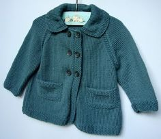 gorgeous knitted baby coat