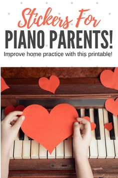 In this post, we share a set of Piano Parent Practice Stickers that you can print out and send home with the parents of your piano students. The stickers contain funny and encouraging statements that piano parents can use to acknowledge the positive and e Piano Lessons, Music Lessons, Piano Practice Chart, Piano Teaching, Learning Piano, Homemade Instruments, Best Piano, Free Piano, Music Activities