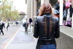 dion lee #leather jacket