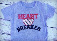 Heart Breaker Boys Valentine Shirt