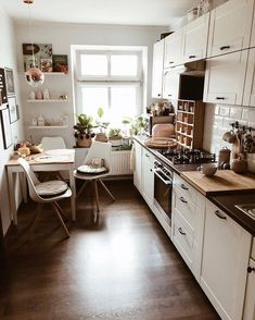 """Home Decor & Interior Designs's Instagram profile post: """"Love this cozy room!😱🧡 Would absolutely love this kitchen!💚🥰 What do you think? Let us know!👇👇 🏡Follow us @perfect.homess 🌈Follow us…"""" Kitchen Room Design, Cozy Kitchen, Home Room Design, Home Decor Kitchen, Home Interior, Decor Interior Design, Kitchen Interior, Scandinavian Style Home, Bedroom Decor For Teen Girls"""