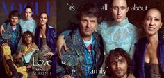 Legendary Supermodel Pat Cleveland covers Vogue Italia June 2016 with her family.