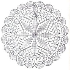 Materiales gráficos Gaby: Colección de moldes para tejer mandalá en crochet