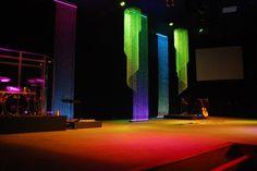 glistening brightly church stage design ideas