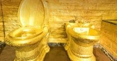 Gold Toilet Layer