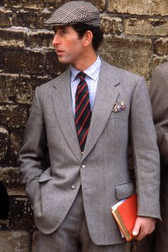 Prince Charles in 1976. Without doubt one of the most elegantly dressed gentlemen of the past 100 years.
