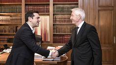 Secretary General meets Greek PM Tsipras