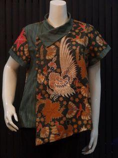 Atasan kimono batik modif