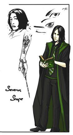 Severus S avatar by NesCafe916 on deviantART
