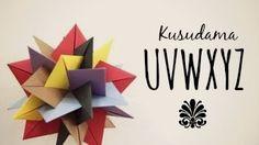 How to make a Kusudama UVWXYZ (Francesco Mancini) - YouTube