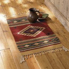 Rugzilla.com can help you achieve this picturesque look with southwestern rugs.