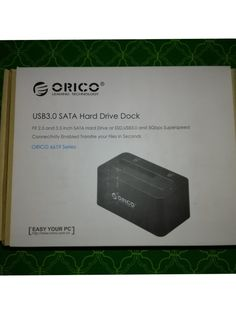 Hi everyone! Today I want to share with you another great product that I just got in from Orico. It's the 6619 Series USB 3.0 SATA Hard Drive Dock! Orico is a great company, that I personally…
