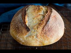 Overnight Sourdough Bread recipe is a great basic recipe to make if you are just getting started baking Sourdough bread or have been at it for years. Overnight Sourdough Bread Recipe, Spelt Sourdough Bread, Wheat Bread Recipe, Sourdough Recipes, Sourdough Rolls, Artisan Bread Recipes, Rustic Bread, The Best, Cooking Recipes