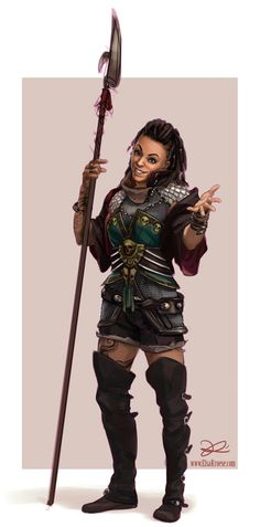 dnd character: Haag by ElsaKroese.deviantart.com on @deviantART [fighter]